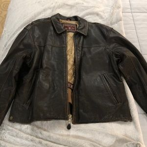 Men's Andrew Marc leather jacket